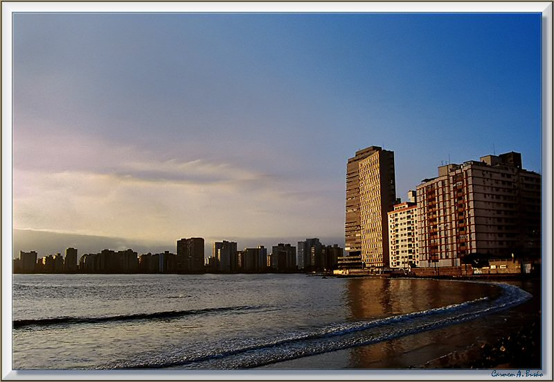 Sunset in S�o Vicente