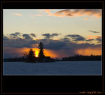 Title: Winter SunsetNikon D-70s