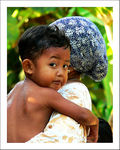 Title: In mothers arms