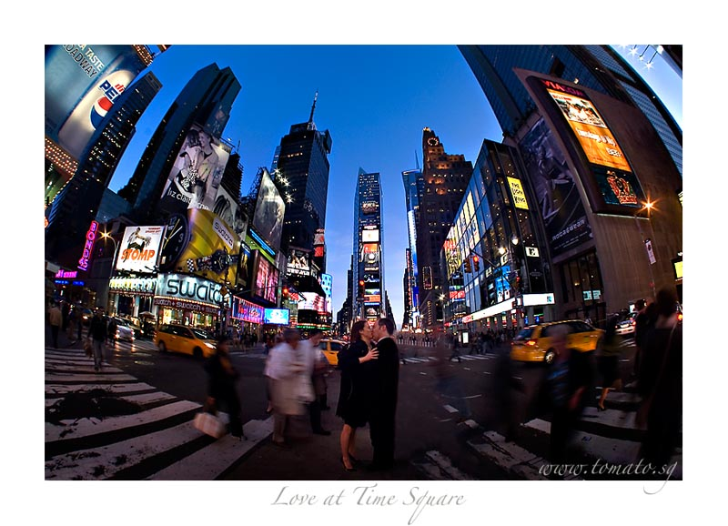 Love at time Square