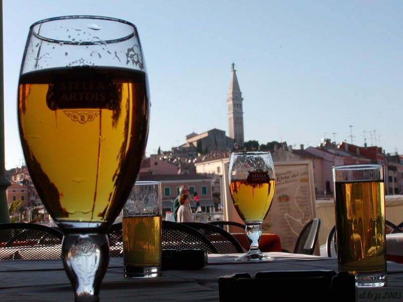 beer in rovinj