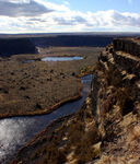 Title: Dry Falls Look Out