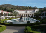 Title: Getty Museum as viewed from enteranceSony Syber-shot DSC-W70
