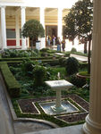 Title: Getty Museum Inner CourtyardSony Syber-shot DSC-W70