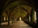 Title: Fountains Abbey CellariumNikon D70s