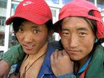 Title: Two Tibetan guys