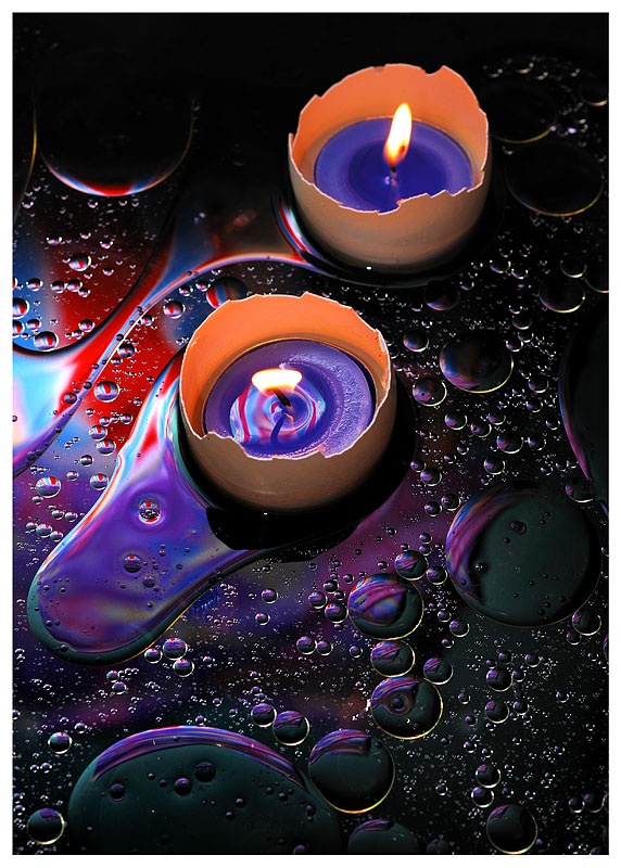 Candles on Oil