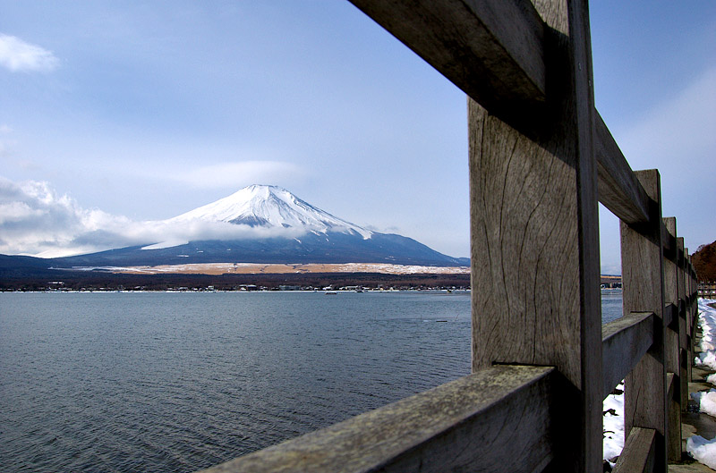 Framing Mt. Fuji