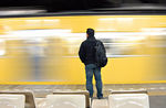Title: Catching the Yellow Train