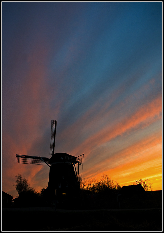 Dust over Holland