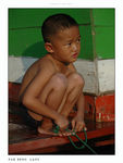 Title: Little Laotian fishermanNikon D70s