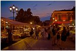Title: Evening market in Nice