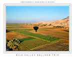 Title: Nile valley balloon trip
