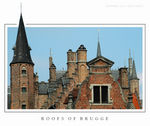 Title: Roofs of Brugge