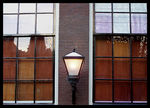 Title: A Window on Amsterdam