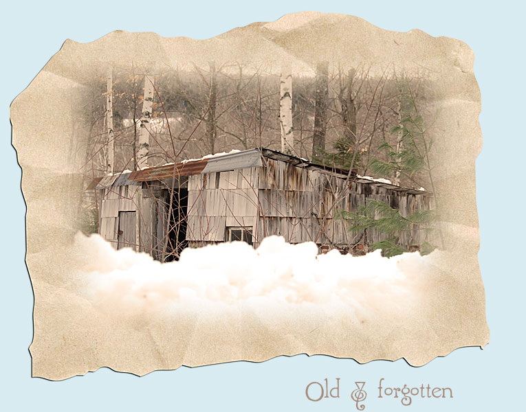 Old and Forgotten in Sepia