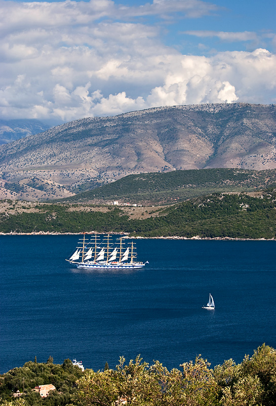Little & Large in the Ionian Sea