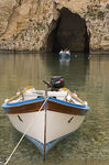Title: Boats from a CaveSony Alfa DSLR A100