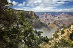 Title: Clouds Over the Grand CanyonCanon 5D