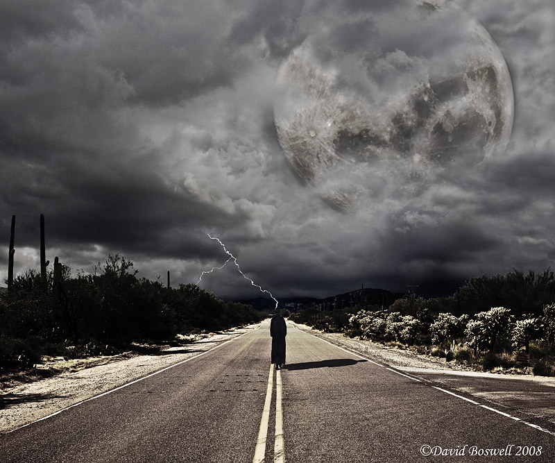 Into the Coming Storm (I Walk Alone)