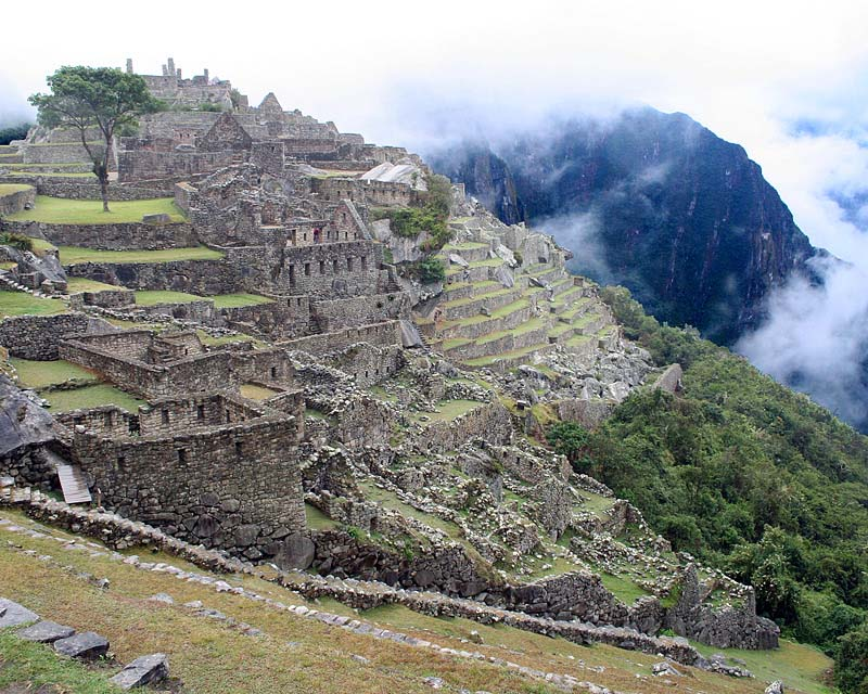 The Ravages of Time-Machu Picchu
