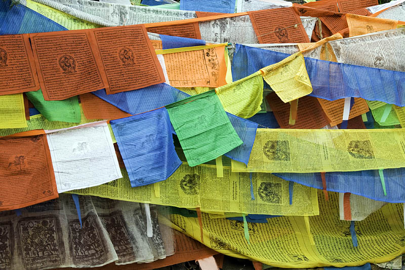 Potala Prayer Flags