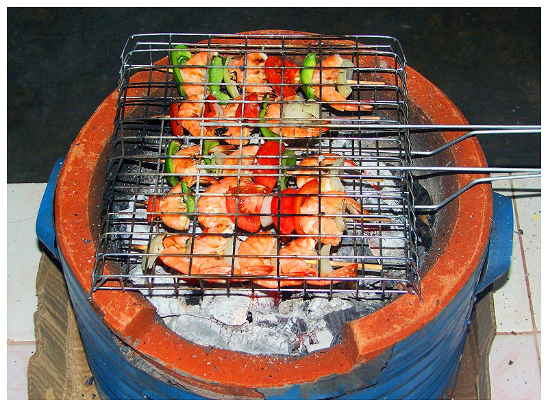 another shrimp on the barbie