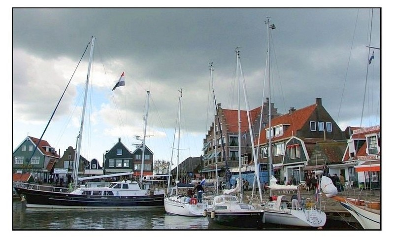 A postcard from Zuiderzee