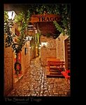 Title: The Street of Trogir