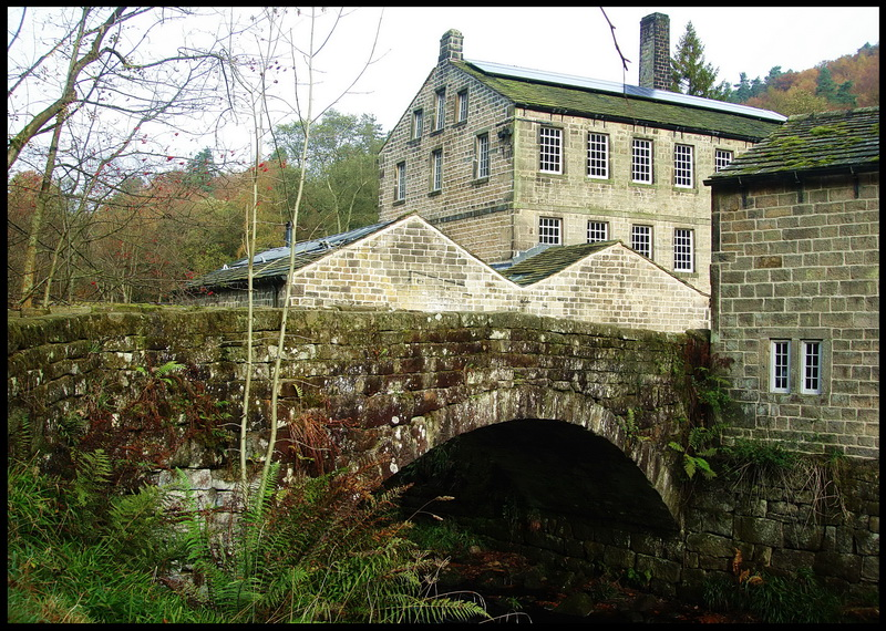 A view of the mill