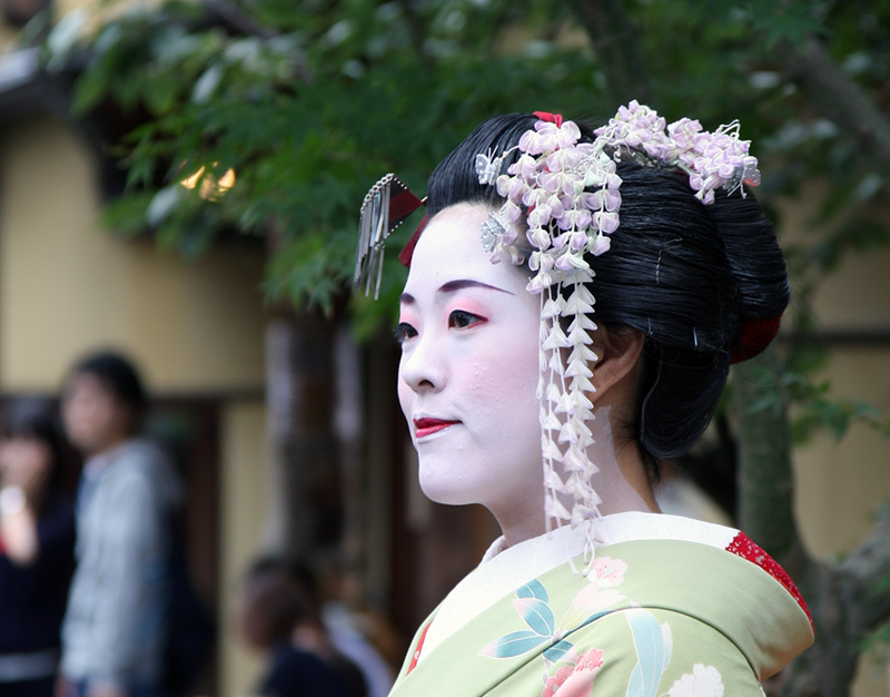Portrait of a Maiko