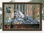 Title: Lion and Spring