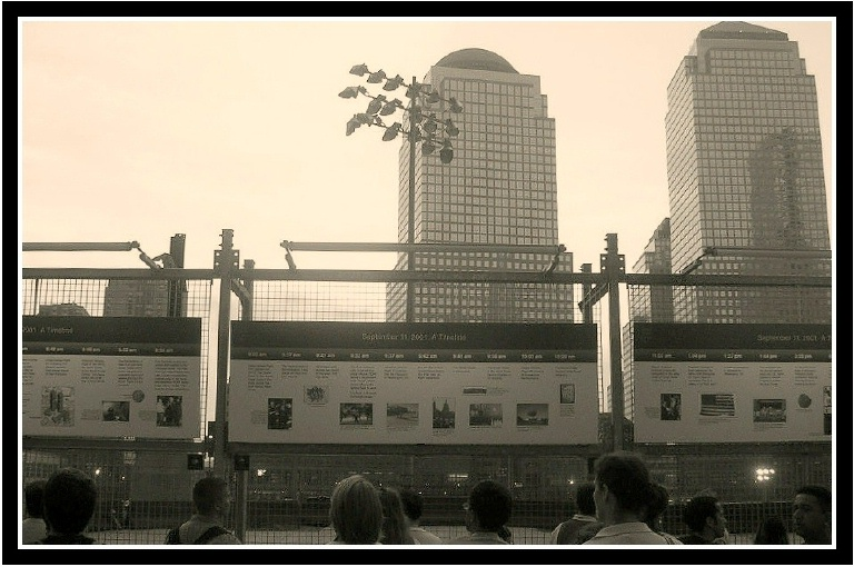 World Financial Centre last year...