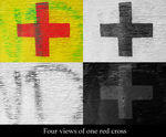 Title: 4 looks at 1 red crossCanon G3