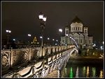 Title: Night view of Bridge & Cathedral