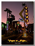 Title: Night shot of Vegas...