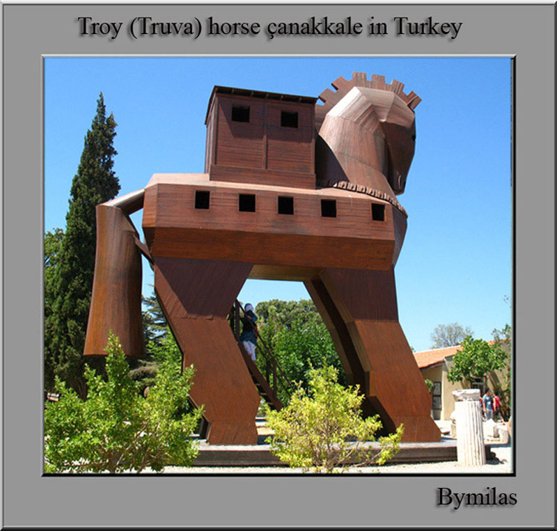 troy horse...in turkey