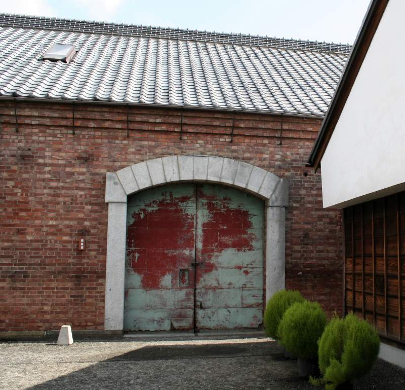 an old warehouse