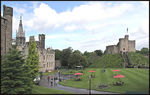 Title: Cardiff Castle groundsCanon Digital Rebel XT 350D