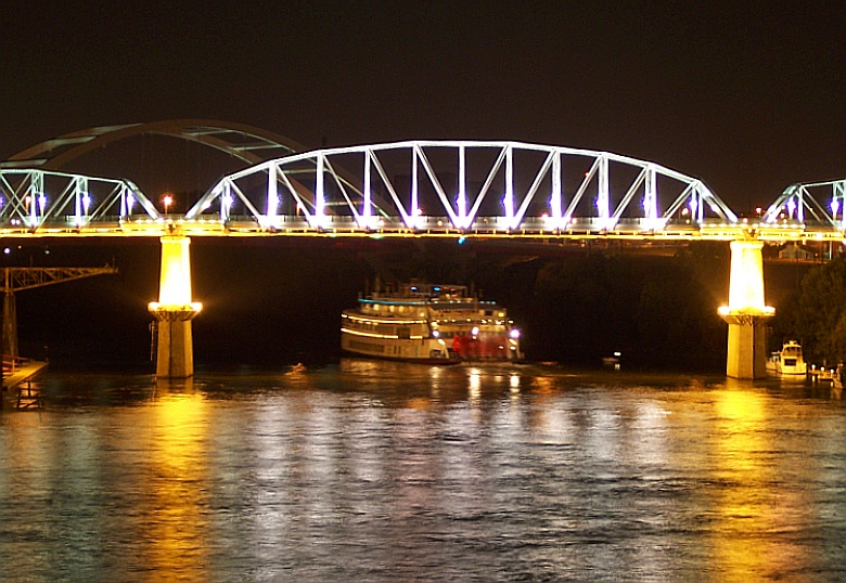 The Andrew Jackson River Boat