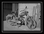 Title: Old Motorbike