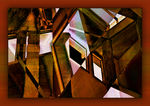 Title: Vaulted Ceiling Abstract