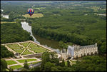 Title: Chenonceaux from baloon