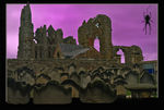 Title: Dracula's Abbey at Hallowe'enNikon D200