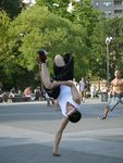 Title: player in the street (capoeira version)