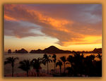 Title: Sunset over Cabo