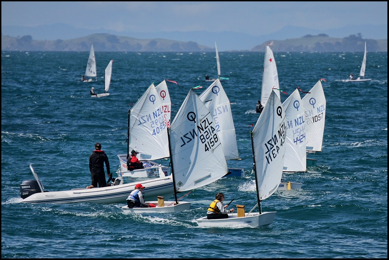 Sailors Training at Murrays Bay