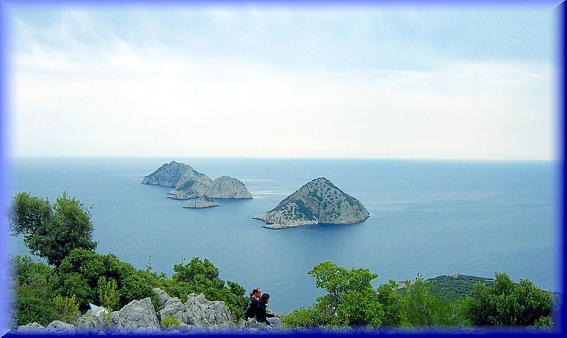 Five Islands-from Cape Gelidonia