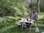 Title: Picnic  at the spring
