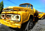 Title: old truck
